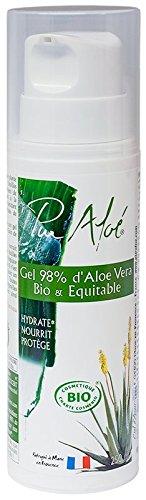 Pur Aloe - Gel hidratante orgánico con aloe vera nativo, 250 ml