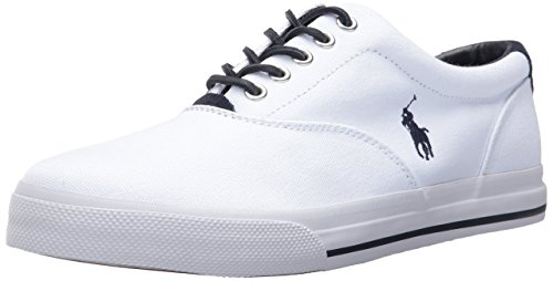 Polo Ralph Lauren Men's Vaughn-SK, Pure White, 10 D US