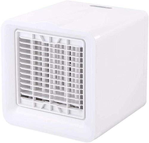 Jieer Mobile klimageräte, Luftkühler 3-in-1 Tragbare Mini-Klimaanlage Luftbefeuchter 150 Ml Mini-USB-Desktop 3-Fach No Noise Perfekt für Schreibtisch, Schlafsaal, Schlafzimmer und Im Freien