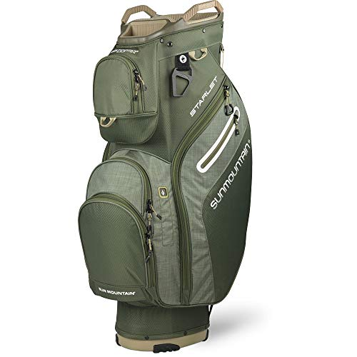 Sun Mountain 2020 Women's Starlet Golf Cart Bag (Beetle-Beetle-Heather)