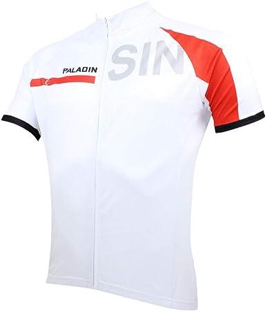 Maillot Ciclismo Deportes y Aire Libre Franja blanca camisa ...