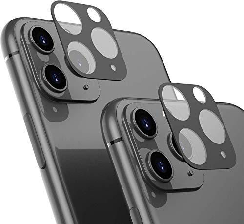 Young Min 2 Pack Cámara Protector para iPhone 11 Pro MAX 6.5 / iPhone 11 Pro 5.8, Pantalla De Lente Trasera Cristal Vidrio Templado para iPhone 11 Pro MAX 6.5 / iPhone 11 Pro 5.8
