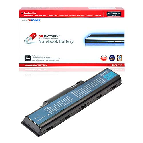 Dr. Battery Laptop Battery for Acer AS07A31 AS07A41 AS07A51 AS07A71 Aspire 5735Z 5737Z 5738 5738G 5738Z 5738ZG 5740G 5535 5536 5536G 5542 5542G 5735 5738DG 5738DZG 5738PZG 5740 [11.1V/4400mAh/49Wh]