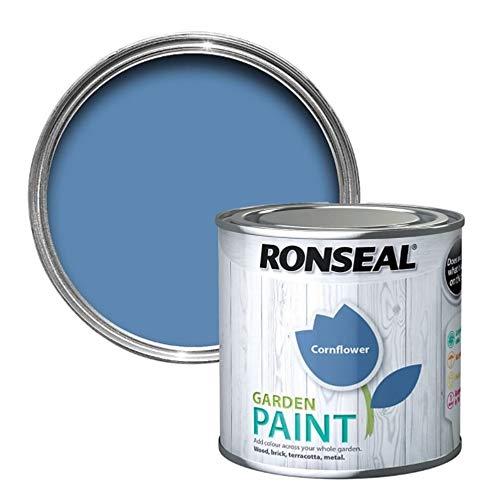 Ronseal RSLGPCF750 GPCF750 Garden Paint Cornflower 750ml, 750 ml