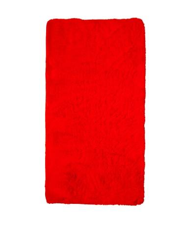 Dyckhoff Badteppich Badematte Badvorleger rot 70/120 cm