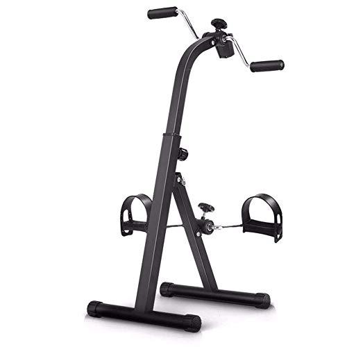 SCJ Máquina de rehabilitación Plegable Bicicleta de Ejercicio portátil Ejercitador de Brazos y piernas Que promueve la circulación sanguínea Equipo de Ejercicios