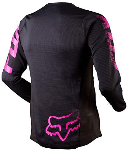Fox Girls Jersey Blackout Rot Gr. M - 2
