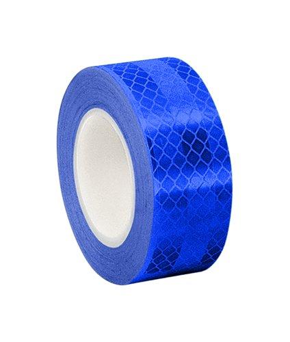 3M - 2-5-3275(PK 2) 3275 Blue Micro Prismatic Sheeting Reflective Tape, 2' x 5 yd (2 Rolls)