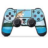 DeinDesign Skin kompatibel mit Sony Playstation 4 Pro PS4 Controller Aufkleber Folie Sticker Angeln...