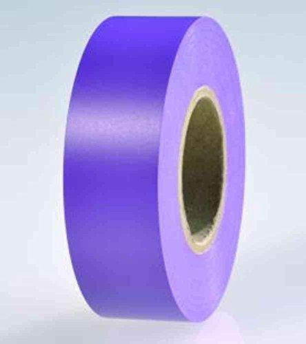 Hellermann Tyton HTAPE-FLEX15-15 x 10, für Innen- & Außenbereich, 10 m, PVC, Violettes Klebeband