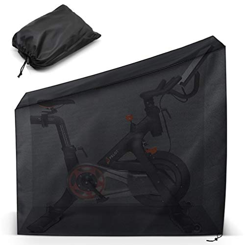 Protective Cover for Peloton Bike. Indoor and Outdoor Dustproof/Waterproof Sunshine-proof Cover Compatible with Peloton Bike and Peloton Bike +