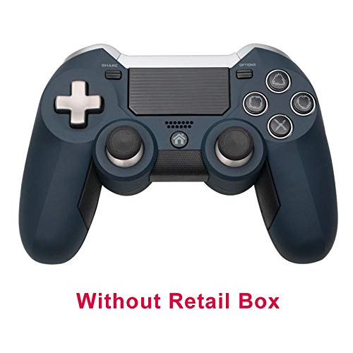 L.Z.HHZL Gamepad 2.4G sans Fil for PS4 Gamepad Double Vibration Elite contrôleur de Jeu Manette de Jeu for PS3 / PC Console de Jeu vidéo (Color : Without Box, Size : 1)