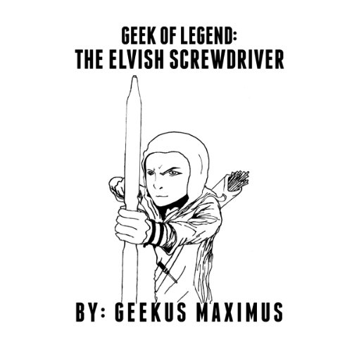 Geek of Legend audiobook cover art