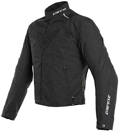 Dainese 1654614_691_56 Laguna Seca 3 D-Dry Jacket Giacca Moto Nero/Nero/Nero, 56 EU