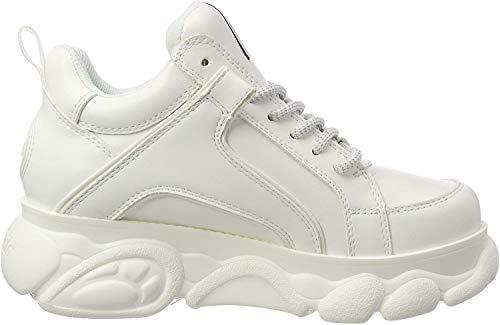 Buffalo Damen Corin Hohe Sneaker, Weiß (White 000), 38 EU