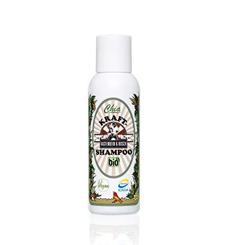 Bio Chia Kraftshampoo für starke, gesunde Haare I 100% natürlich, Glycerinfrei, silikonfrei & vegan I Haarpflege Shampoo von Kastenbein & Bosch, 100ml