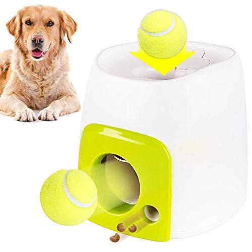 Lanzador de pelotas interactivo para perros, juguete dispensador de alimentos, juguetes de recompensa, herramienta de entrenamiento de animales, lanzador de rompecabezas para mascotas