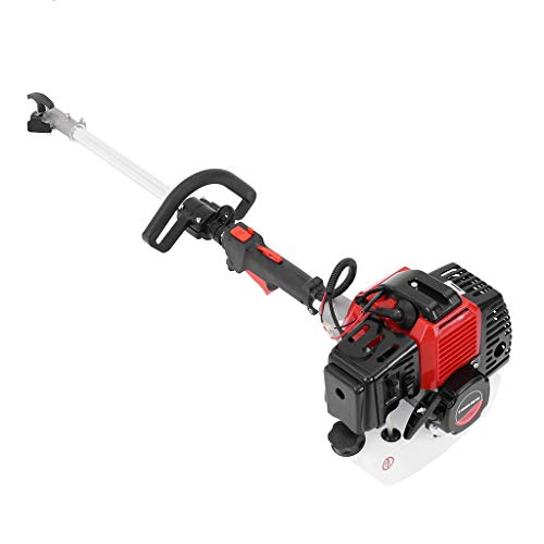 Lanyun Brush Cutter, 5 in 1 52cc Petrol Hedge Trimmer Chainsaw Brush Cutter Pole Saw Outdoor Tools Garden Tool,Long Reach Hedge Trimmer,134cm Extension Pole,Chainsaw,for Farm, Garden and Ranch