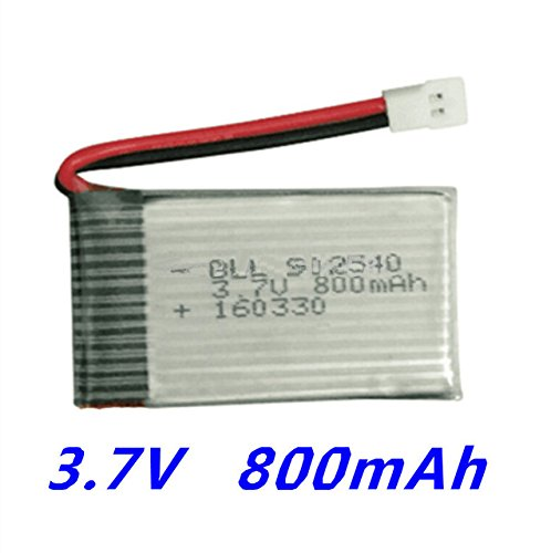 3. 800mah Batterie