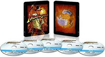 Best Indiana Jones: The Complete Adventures (Limited Edition Steelbook) [Blu-ray] Review