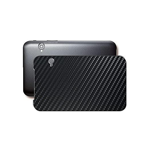 """VacFun 2 Piezas Protector de pantalla Posterior, compatible con Dell Mobile Streak 7 7"""", Película de Trasera de Fibra de carbono negra Skin Piel"""