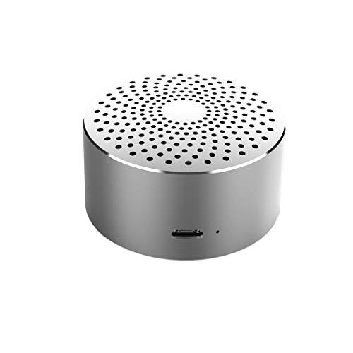 XFSE Silber Mini-Lautsprecher tragbare drahtlose Bluetooth-Freisprecheinrichtung Partei Lautsprecher mit Mikrofon
