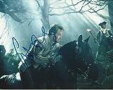 Signing Dreams Autographs Foto firmada por Chris Pine de 25,4 x 20,3 cm en color, Star Trek, en el bosque, distribuidor en persona, registrado en la UACC #242