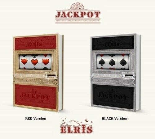 Elris 'Jackpot' 4th Mini Album PhotoBook+1p SET Version shipfree OFFicial site CD+92p 2