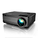 YABER Y21 Native 1920 x 1080P Projector 6800 Lux Upgrad Full HD Video Projector, ±50° 4D Keystone Correction Support 4k&Zoom, Outdoor Projector Compatible w/ TV Stick,HDMI,Xbox,Phone,PC (Renewed)
