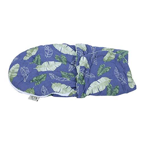 Manta de abrigo de bebé de moda, para un cochecito de bebé(Lucky leaves (without pillows), 57 * 33CM)