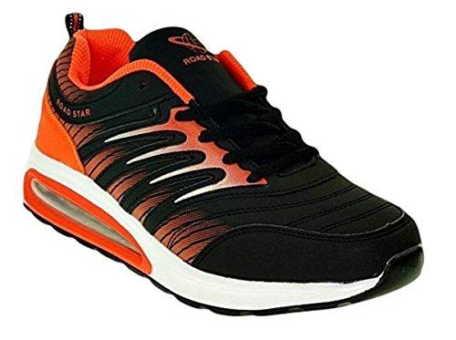 Bootsland 214 Neon Turnschuhe Sneaker Sportschuhe Herren Damen, Schuhgröße:45