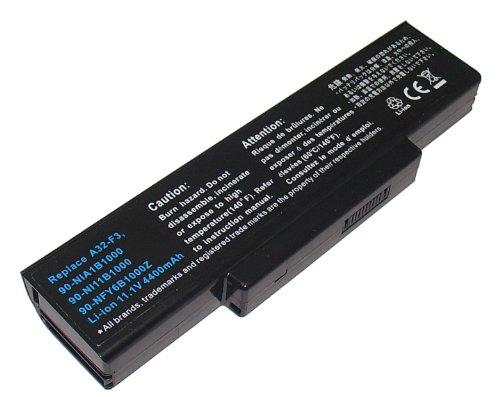 Power Smart® 4400 mAh 11,10 V Li-Ion Batterie pour Asus F2, F3, M51, Z53 Séries A42-A9 de 90 ni11b1000, 90, A32-F3