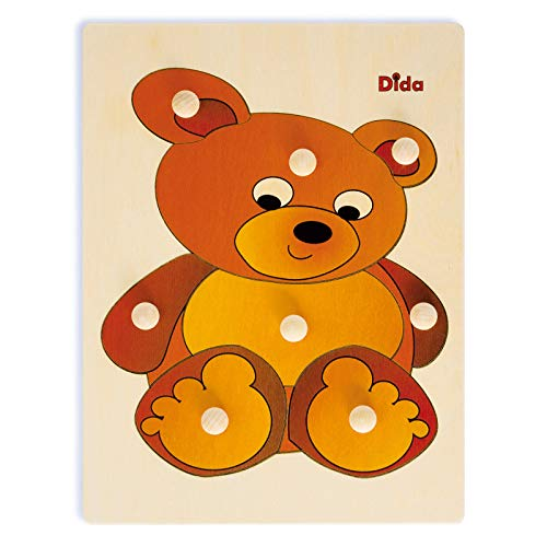Dida - Puzzles Infantiles Madera - Oso