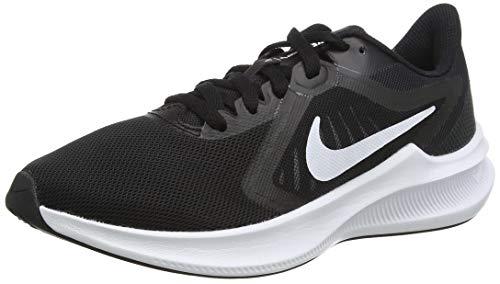 NIKE Downshifter 10, Zapatillas Mujer, Black/White-Anthracite, 39 EU