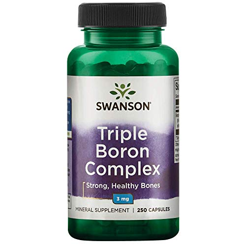 Swanson Triple Boron Complex Bone Support Supplement 3 mg 250 Capsules