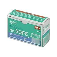 【並行輸入品】Max 50-FE Staple Cartridge for EH-50F Flat-Clinch Electric Stapler 5000/Box
