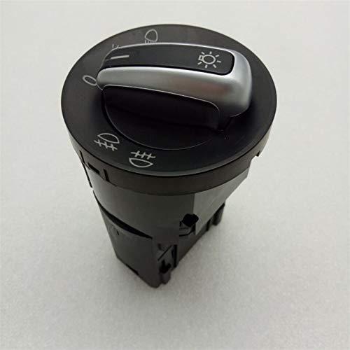 Para VW Golf MK4 Jetta 4 Bora 1998-2008 Passat B5 cromo interruptor de faro niebla cabeza lámpara botón 3BD 941 531 A