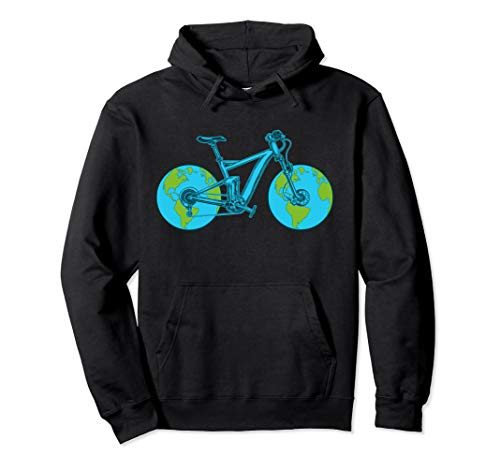 Bicycle Cycling Mother Earth Day Arbor Day Pullover Hoodie