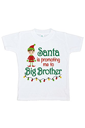 Custom Party Shop Kids Big Brother Christmas T-Shirt 2T Red