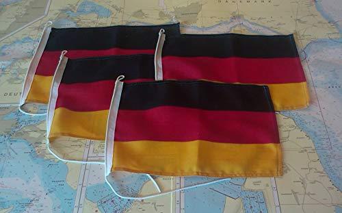 Lindemann Kabinenausrüstung Flagge 30 x 45 cm DEUTSCHLAND SB Pack, 49997
