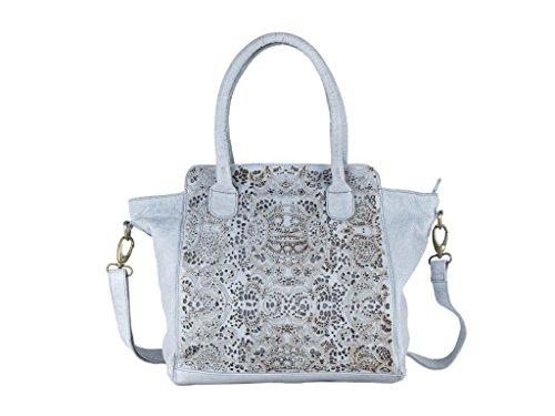 Greenland Femi & Nine Ladies Bag Handtasche Leder 44 cm
