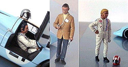 calidad garantizada LE LE LE MANS miniatures Set of 3 Figures Jo Siffert, Pedro Rodriguez & John Wyer  venta con alto descuento