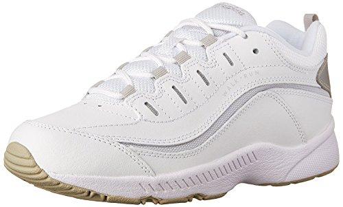 Easy Spirit Women's Romy Sneaker,White/Light Grey,11 W