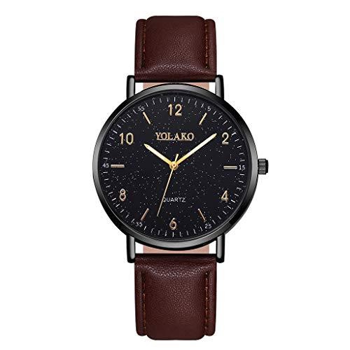 JZDH Relojes para Mujer Relojes de Mujer Elegante Minimalista Calendario Cinturón de Malla de cinturón de Mujer Reloj de Cuarzo Relojes Decorativos Casuales para Niñas Damas (Color : Rose)