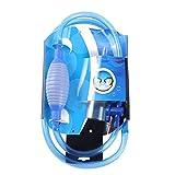 FLAMEER Limpiador de peceras y Manguera Suave válvula de Salida Ajustable de Diferentes tamaños, fácil de Usar a Diario
