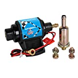 CarBole Micro Electric Gasoline Fuel Pump Universal 5/16 inch Inlet and Outlet 12V 1-2A 35...