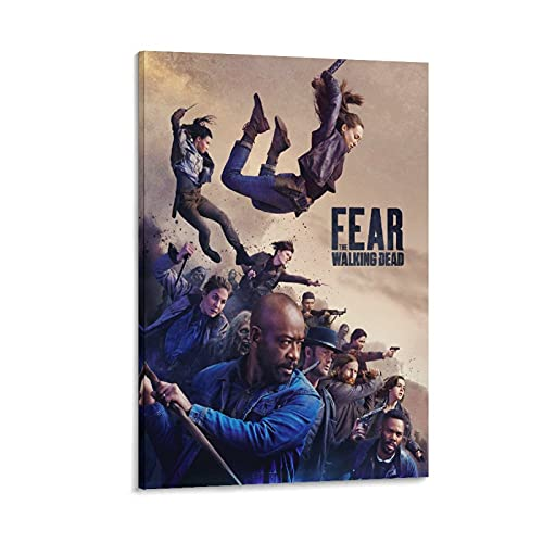 Poster sur toile Fear The Walking Dead Saison 5 - 60 x 90 cm