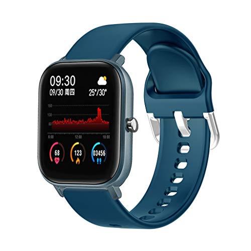 HROIJSL Smart Watch Full Touch Smart Armband Herzfrequenz Blutdruckmessung 1,4-Zoll-HD-Bildschirm Multi-Sport-Uhr IPX7 wasserdicht