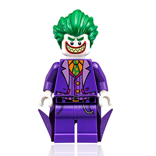 The LEGO Batman Movie Minifigure - Joker with Large Grin and Cape (30523)