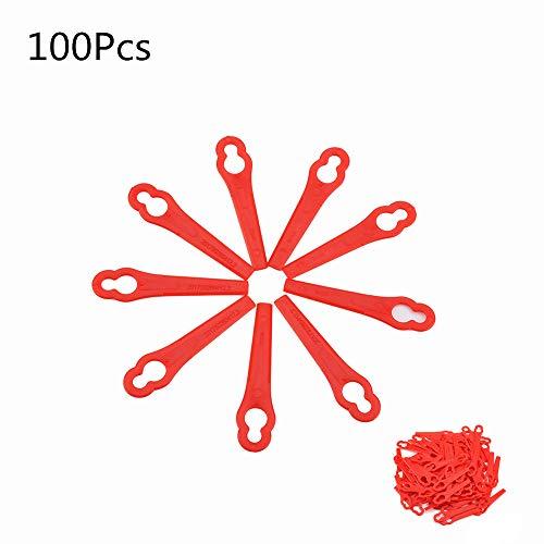 100 STUKS Gazonmaaiers Vervangende plastic messen voor FRT18A FRT18A1 Art 46155 FRT20A1 accessoires